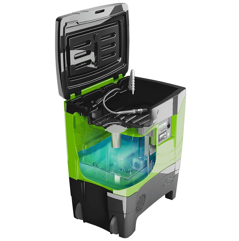fontaine de nettoyage premium - 3D 1