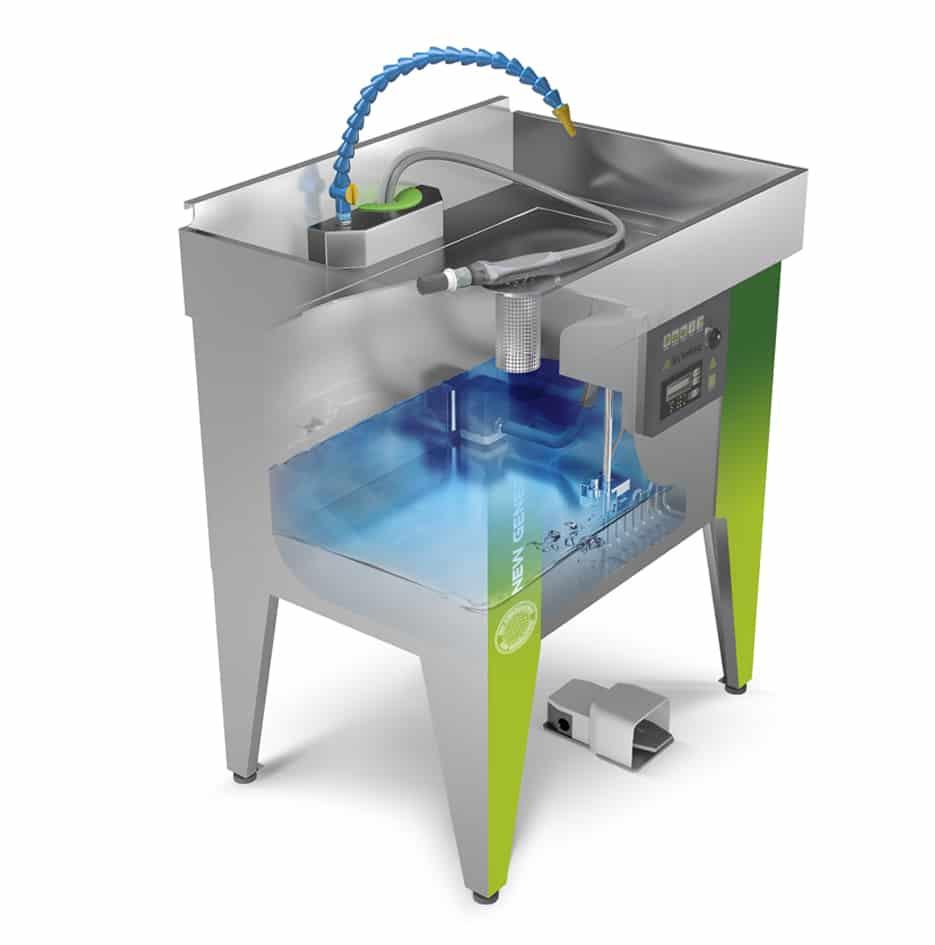 fontaine de nettoyage inox - 3D 3