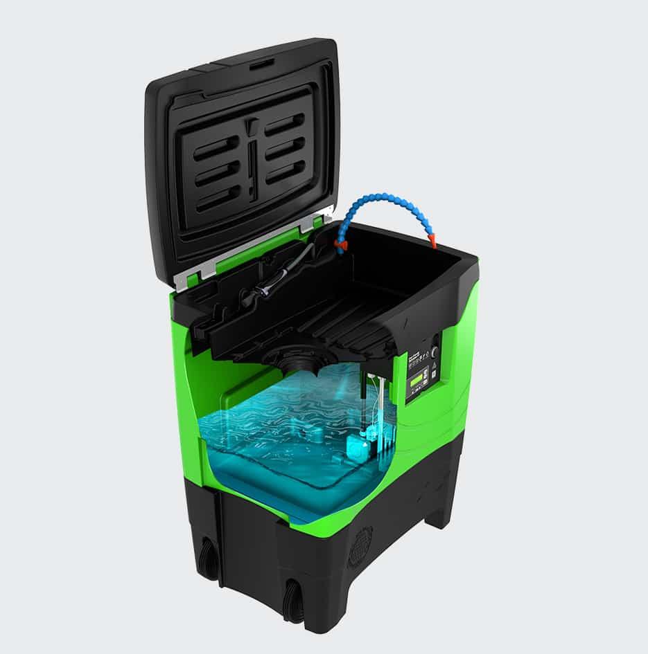 fontaine de nettoyage premium - 3D 5