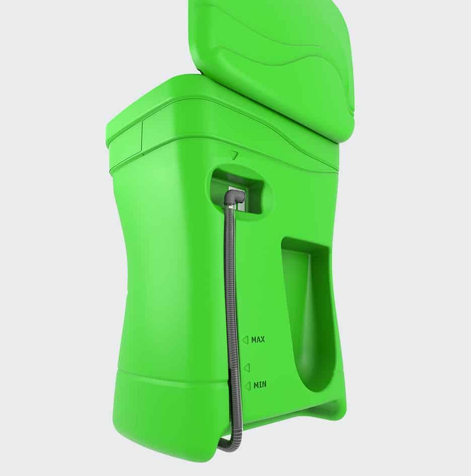 fontaine de nettoyage compact - 3D 4