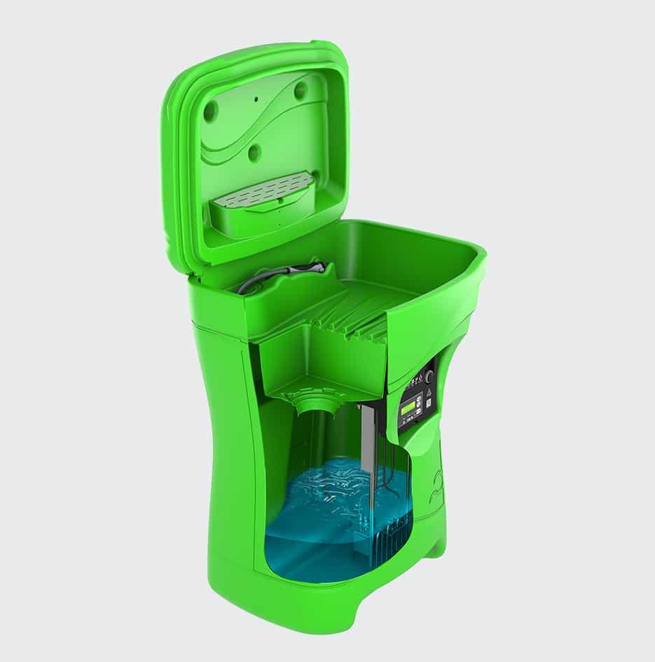 fontaine de nettoyage compact - 3D 5