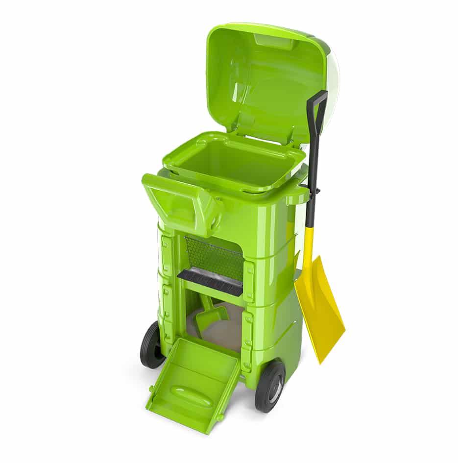 recycleur d'absorbant mobile - 3D 1