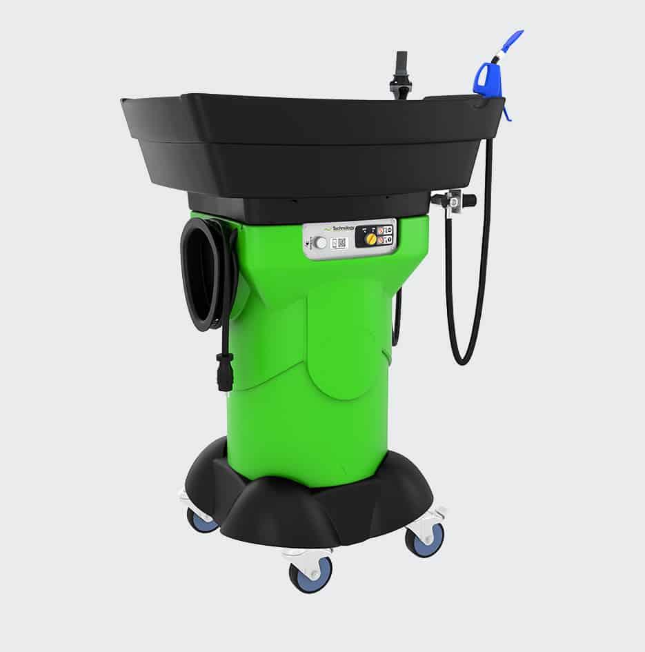 fontaine de nettoyage mobile gravity X3 - 3D 1