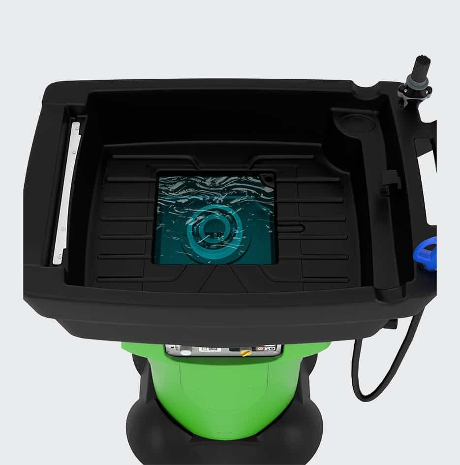 fontaine de nettoyage mobile gravity X3 - 3D 3