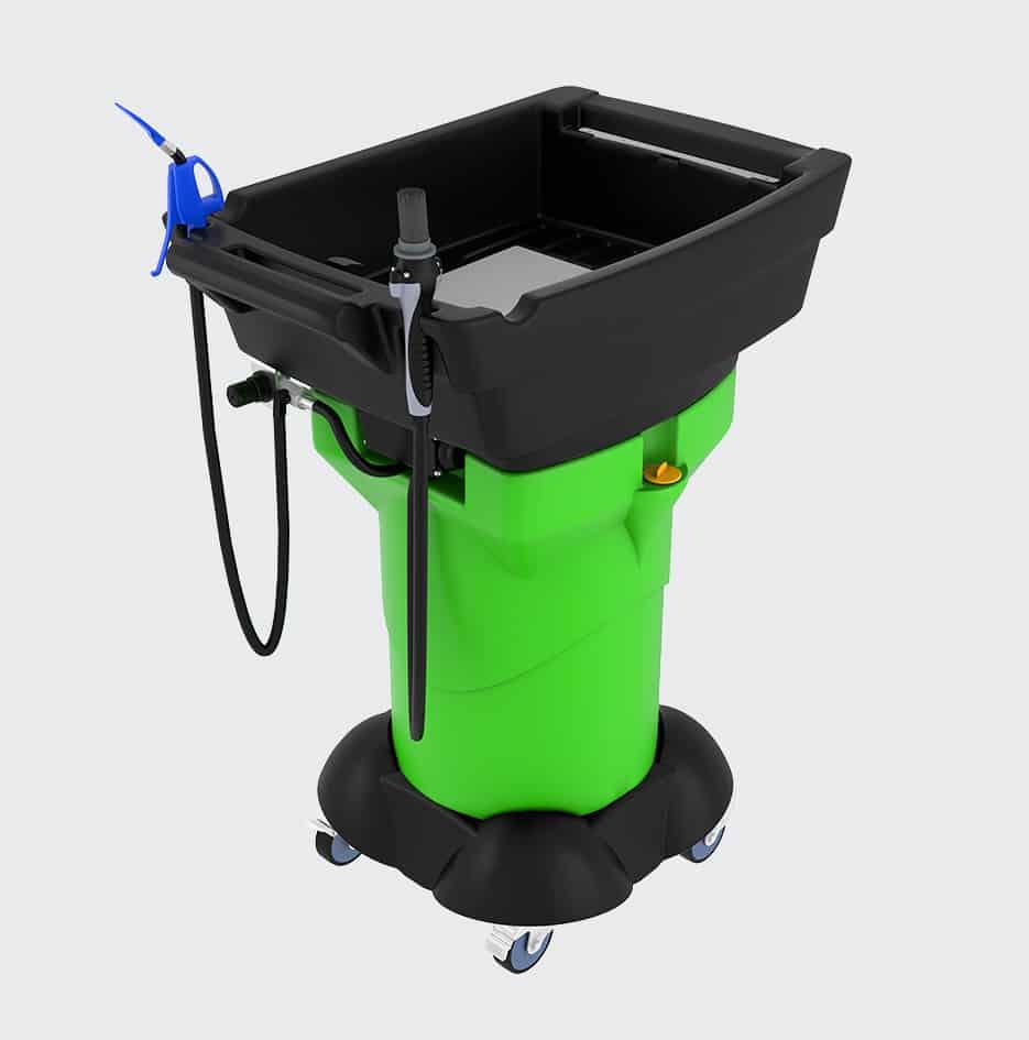 fontaine de nettoyage mobile gravity X3 - 3D 4